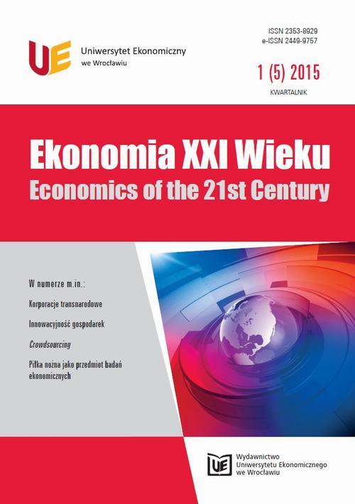 Ekonomia XXI Wieku 2015, nr 1(5)