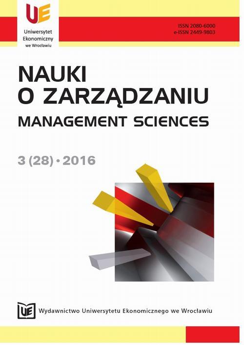 Nauki o Zarządzaniu 3(28)