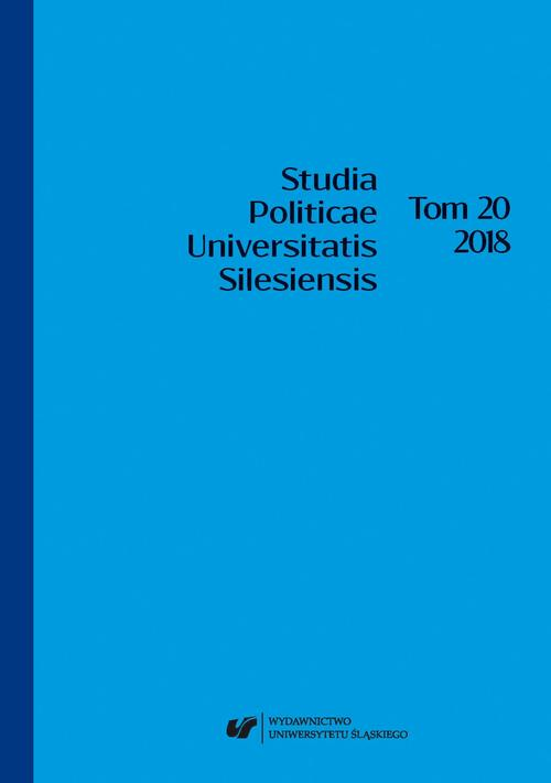 """""""Studia Politicae Universitatis Silesiensis"""". T. 20"""