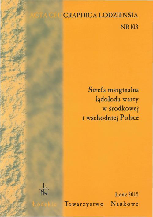 Acta Geographica Lodziensia t. 103