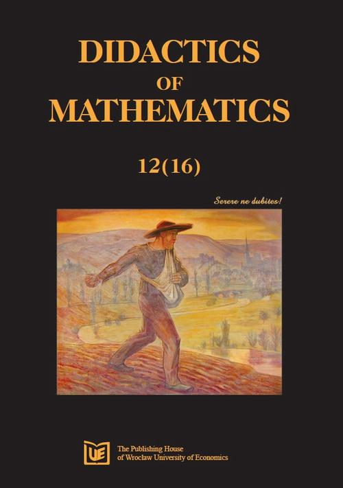Didactics of Mathematics 12(16)