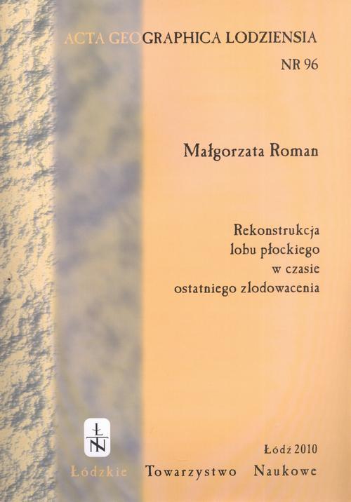 Acta Geographica Lodziensia t. 96/2010