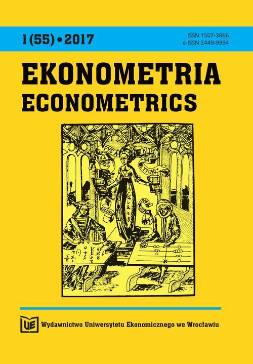 Ekonometria 1(55) 2017
