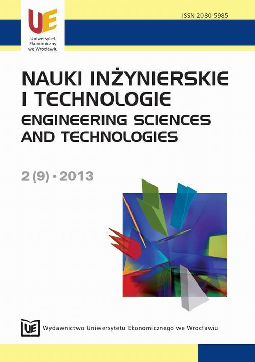 Nauki Inżynierskie  i Technologie 2(9) 2013