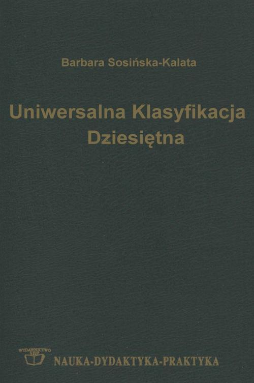 Uniwersalna Klasyfikacja Dziesiętna: podręcznik