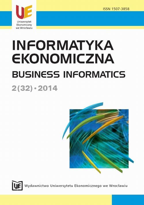 Informatyka Ekonomiczna 2(32)