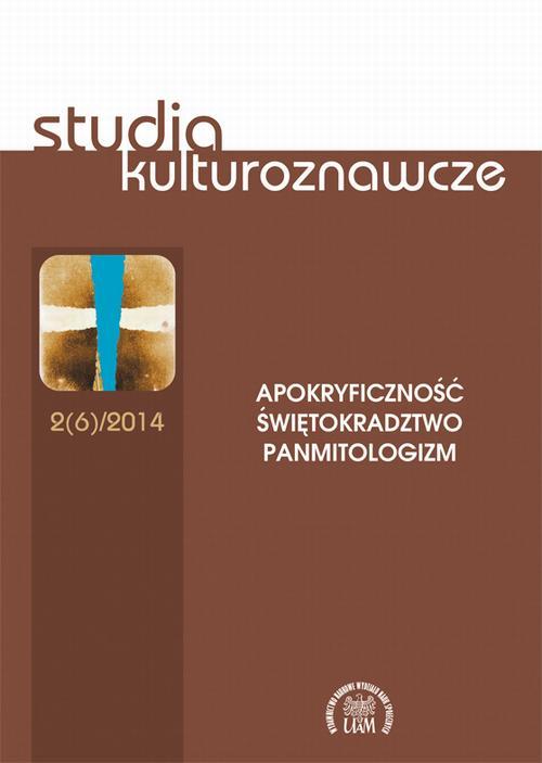 Studia kulturoznawcze 2(6)/2014