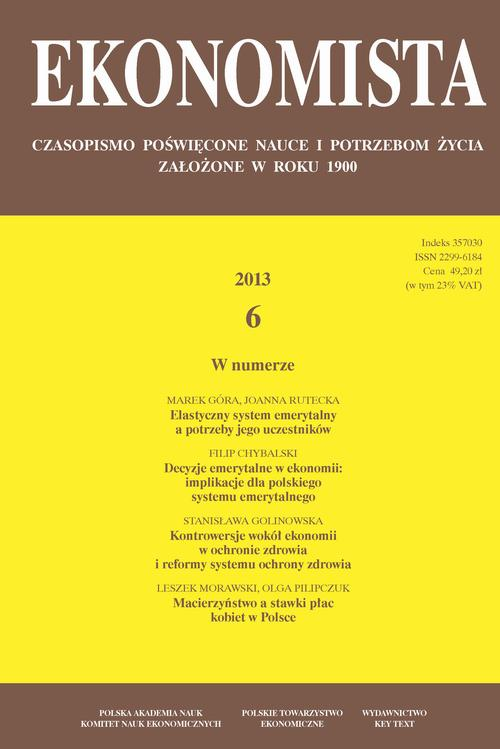 Ekonomista 2013 nr 6