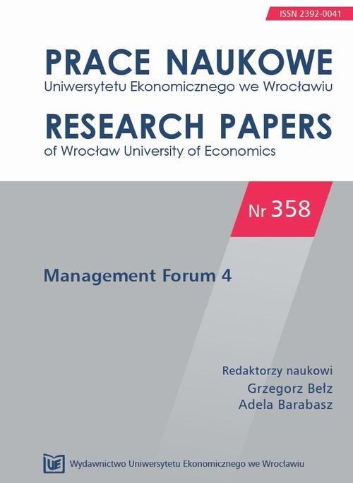 Management Forum 4. PN 358