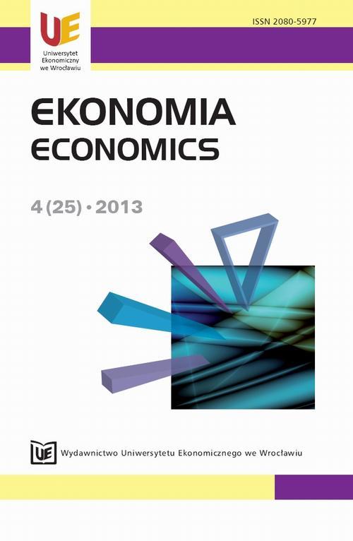 Ekonomia 2013, nr 4(25)