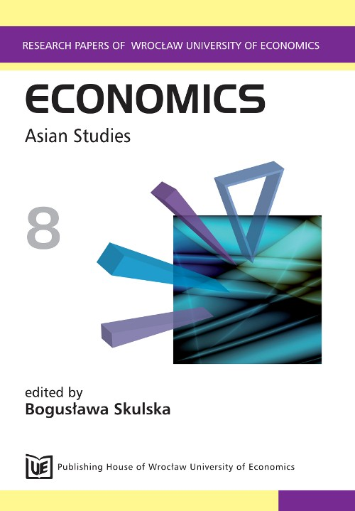 Economics 8 Asian Studies