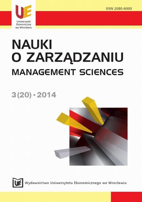 Nauki o Zarządzaniu 3(20)