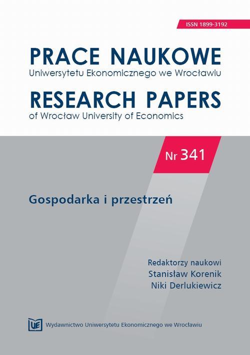 Gospodarka i przestrzeń. PN 341