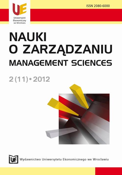 Nauki o Zarządzaniu 2(11)