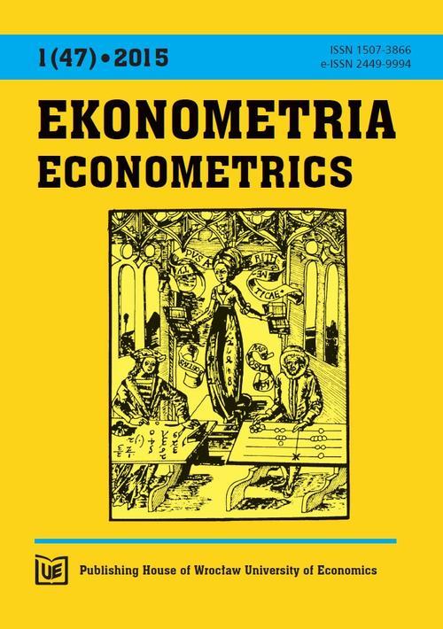 Ekonometria 2015, nr 1(47)
