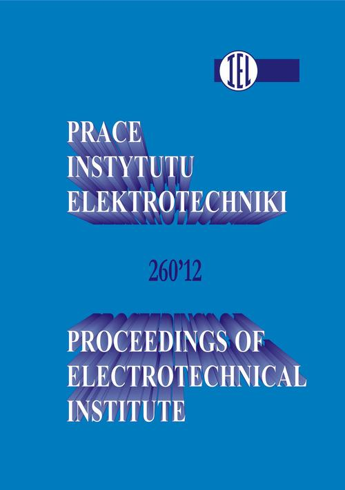 Prace Instytutu Elektrotechniki, zeszyt 260