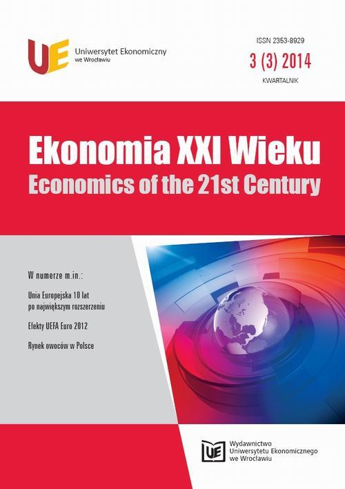 Ekonomia XXI Wieku 2014, Nr 3 (3)