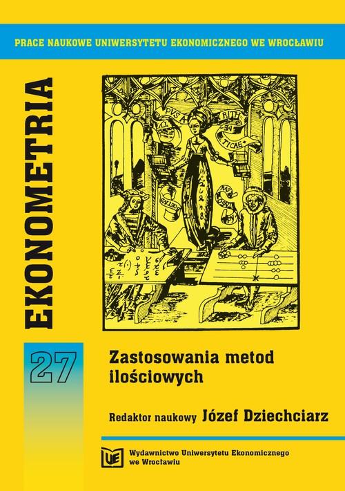 Ekonometria 27. Zastosowanie metod ilościowych