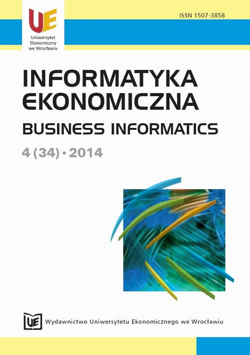 Informatyka Ekonomiczna 4(34)