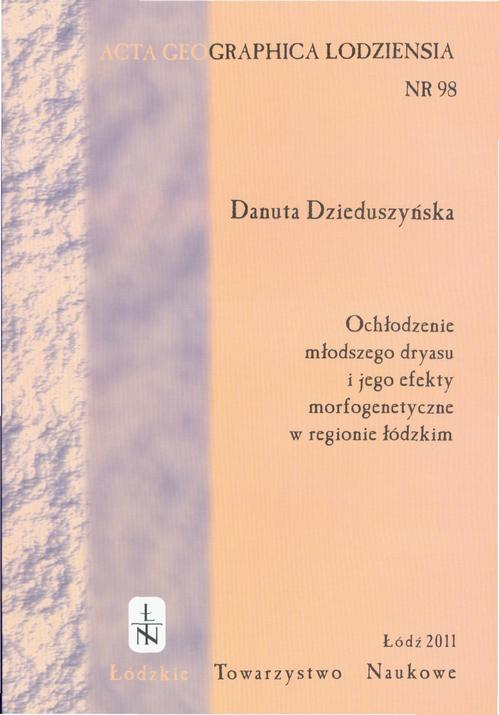 Acta Geographica Lodziensia t. 98/2011