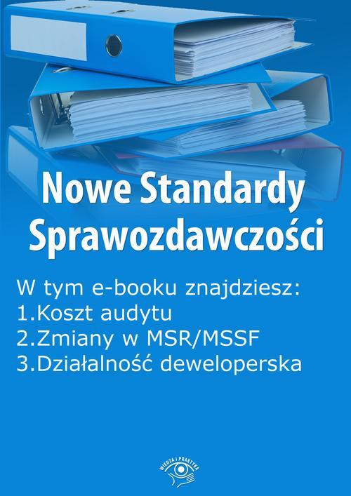 Nowe Standardy Sprawozdawczości, wydanie styczeń 2016 r. część I