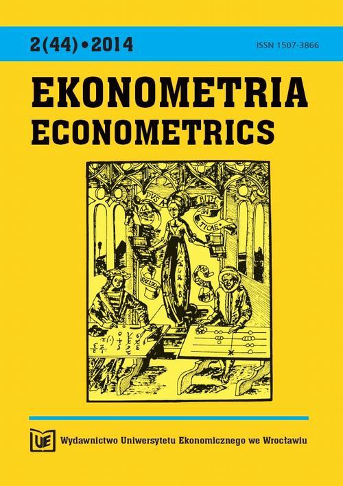 Ekonometria 2014, Nr 2 (44)