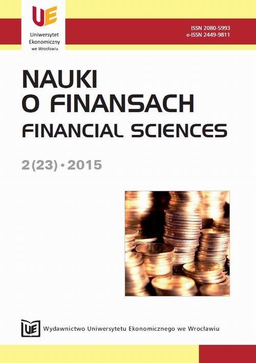 Nauki o Finansach, nr 2(23)